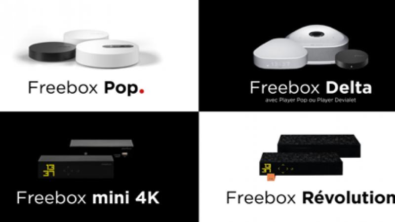 Le freebox francesi
