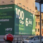 La pubblicità green di Very Mobile