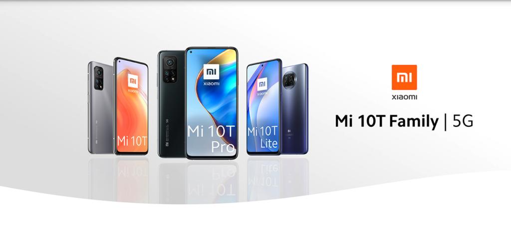 Xiaomi Mi 10T Family con WindTre