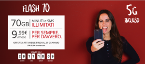 Flash 70, ecco la prima offerta iliad in 5G: grande novità!