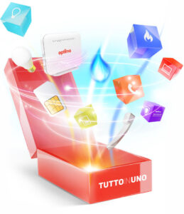 Tutto in uno, lo spot dell'offerta convergente Optima