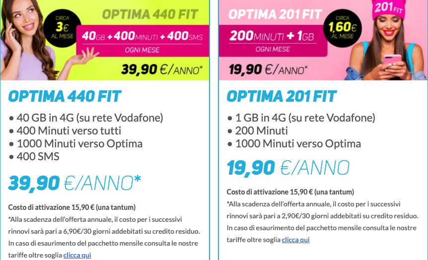 Optima nuove offerte Mobile